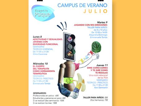 Cartel para Espacio Psique (Valencia)