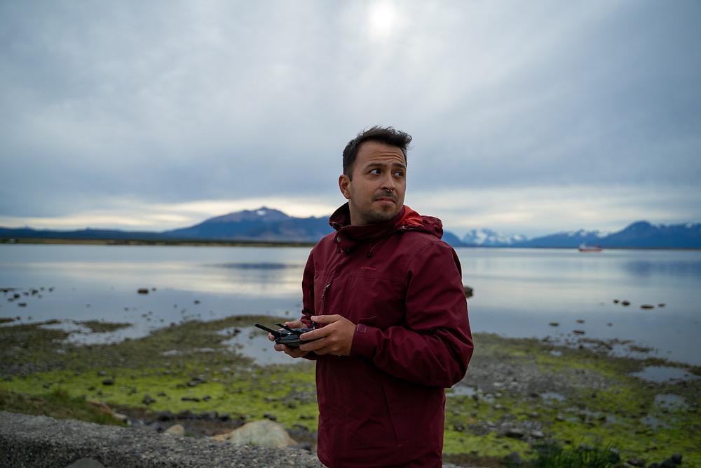 Nelson Lizana filmmaker super8films dron por Sonia Sanmartin