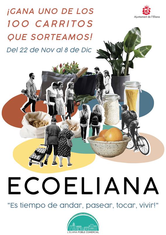 Sonia Sanmartín Ilustración Cartelería Diseño Gráfico Ecoeliana L'Eliana Poble Comercial