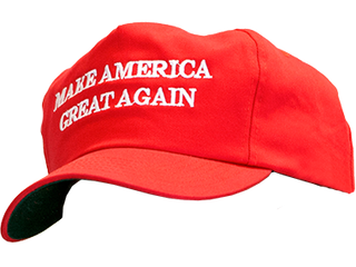 Uneasy Lies A Head That Wears A MAGA Cap