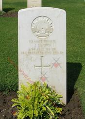 2/24 Infantry Battalion  VX61672 Pvt John BROWN