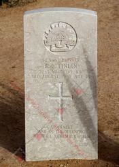 2/43 Infantry Battalion SX5063  Pvt Bruce Edmund TINLIN
