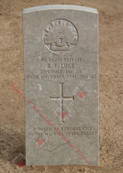 2/13 Infantry Battalion NX24238  Pvt Roy Francis LUCK
