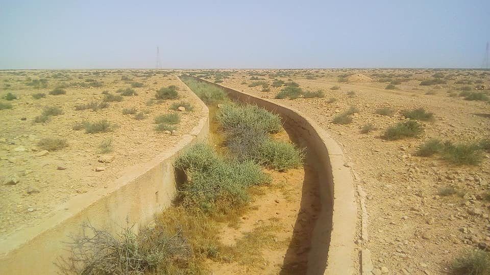 R7 Anti Tank trench