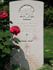 ITALY Udine War Cemetery 2/24th Infantry Battalion VX34244  Pvt Thomas James KENNEDY