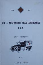 2/5th FIELD AMBULANCE HISTORY