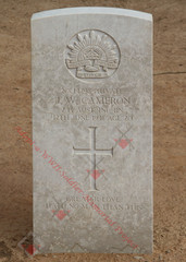 2/13 Infantry Battalion NX14798  Pvt John William CAMERON
