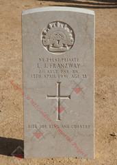 2/1st Pioneer Battalion NX24547  Pvt Leslie John FRANZWAY