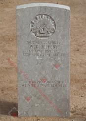 2/1st Pioneer Battalion NX23654  Cpl William Dixon JEFFERY