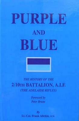 2/10th - PURPLE AND BLUE