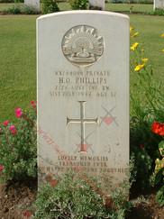 EGYPT Heliopolis War Cemetery 2/24th Infantry Battalion VX44056 Pvt Harold Otto PHILLIPS