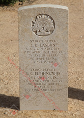 (shared grave) 2/12 Infantry Battalion TX1059  Pvt Sydney Claude ELPHINSTONE