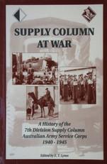 7TH DIV AASC - SUPPLY COLUMN AT WAR