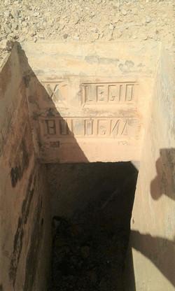 R7 trench underground passage with X Leg