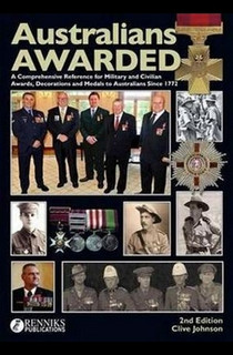 AUSTRALIANS AWARDED