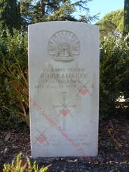 SWITZERLAND Saint Martins Church Cemetery 2/24th Infantry Battalion VX34508 Pvt Patrick James O'RAFFERTY
