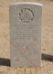 2/17 Infantry Battalion NX14494 Pvt Michael McHENRY (shared grave)
