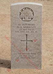 2/1st Pioneer Battalion NX23570  Pvt Richard Arouet MORRISEY