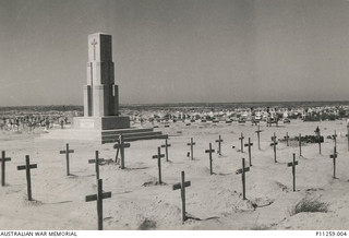 Tobruk War Graves about 1943