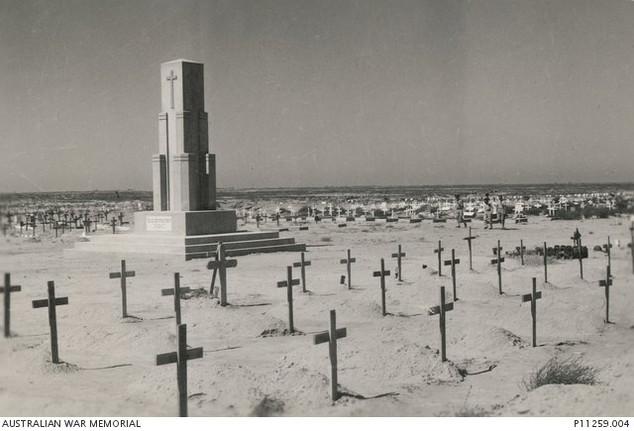 Tobruk War Graves about 1943