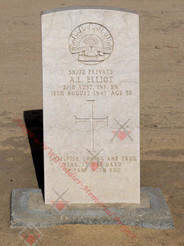 EGYPT Kantara War Cemetery 2/10th Infantry Battalion SX72 Pvt Arthur Lewis ELLIOT