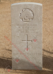 1 Corps Signals NX65202  Sigs Wilfred Henry STEVENS