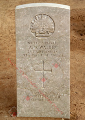 2/13 Infantry Battalion NX24503  Pvt Allan Douglas WALKER