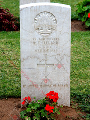 LEBANON Tripoli War Cemetery 2/1st Field Workshops TX2685  Pvt Robert Forbes IRELAND