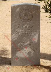 2/1st Pioneer Battalion NX23565  Pvt James Ferguson PATERSON