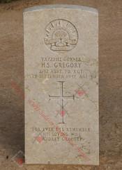 2/12 Field Regiment VX22181  Gnr Henry Spencer GREGORY
