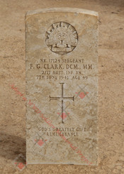 2/17 Infantry Battalion NX17124  Sgt Francis George CLARK