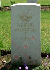 2/10 Infantry Battalion SX347  Cpl Sydney Albert James PREVOST (Chatby War Cemetery)