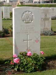 EGYPT Heliopolis War Cemetery 2/24th Infantry Battalion VX31406 Pvt James Douglas MAHER