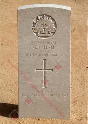 2/1st Army Field Workshops NX29987  Cfm George Dalton HALL