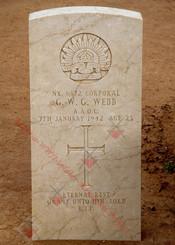 2/1st Army Field Workshops NX6872  Cpl Grantley William George WEBB