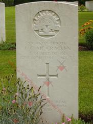 ITALY Milan War Cemetery 2/24th Infantry Battalion VX45756 Pvt James Campbell McCRACKEN