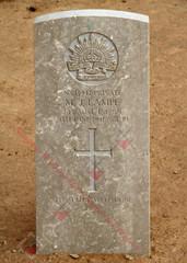2/13 Infantry Battalion NX13947  Pvt Mervyn John LAMPE