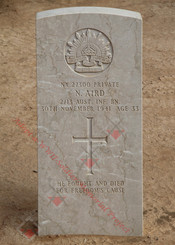 2/13 Infantry Battalion NX27300  Pvt Norman AIRD