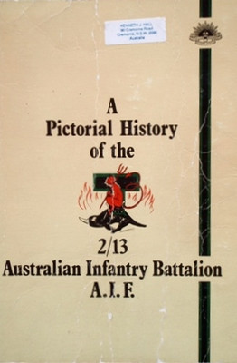 2-13th - PICTORIAL HISTORY OF 2/13th