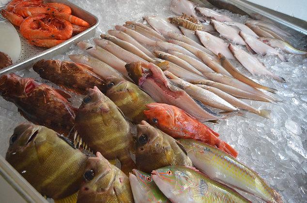 グルメ体験|魚介おまかせセット|鮮魚細井