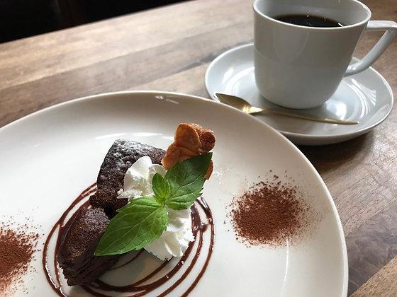 グルメ体験 カフェでゆったりデザートセット cafe3g