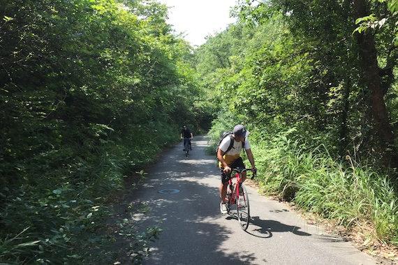 サイクリング体験 やまなみサイクリング 尾道自由大学の複製