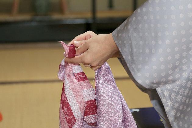 風呂敷教室│風呂敷バッグの作り方+おみやげコース│呉服 永藤
