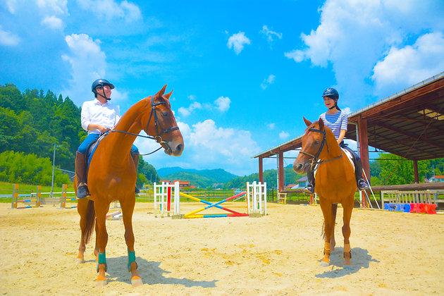 乗馬体験│お手軽体験コース│苅谷乗馬クラブ