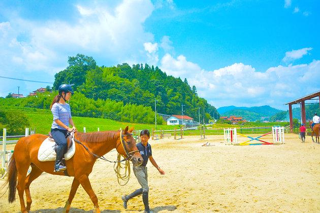 乗馬体験│引き馬コース│苅谷乗馬クラブ