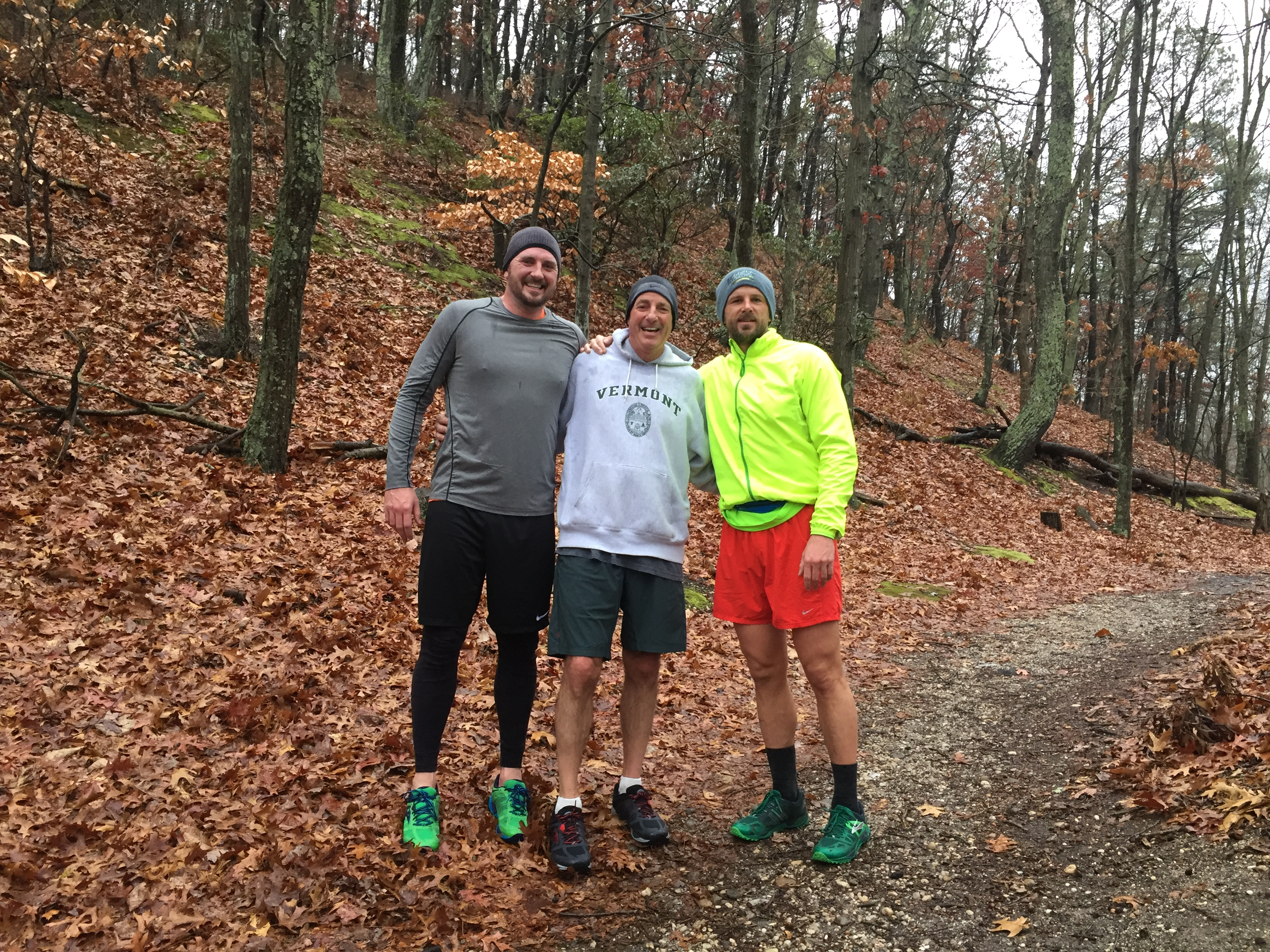 CSH Trail Run with the Nix boys!