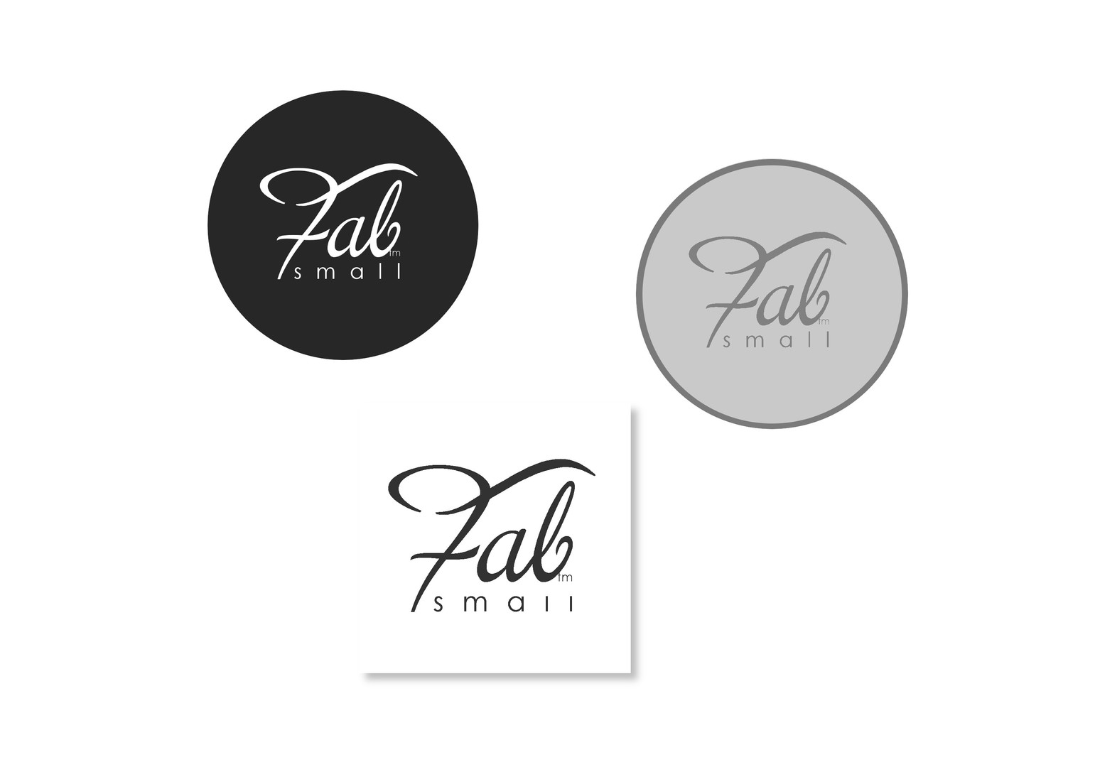 Fabulously Small logo's