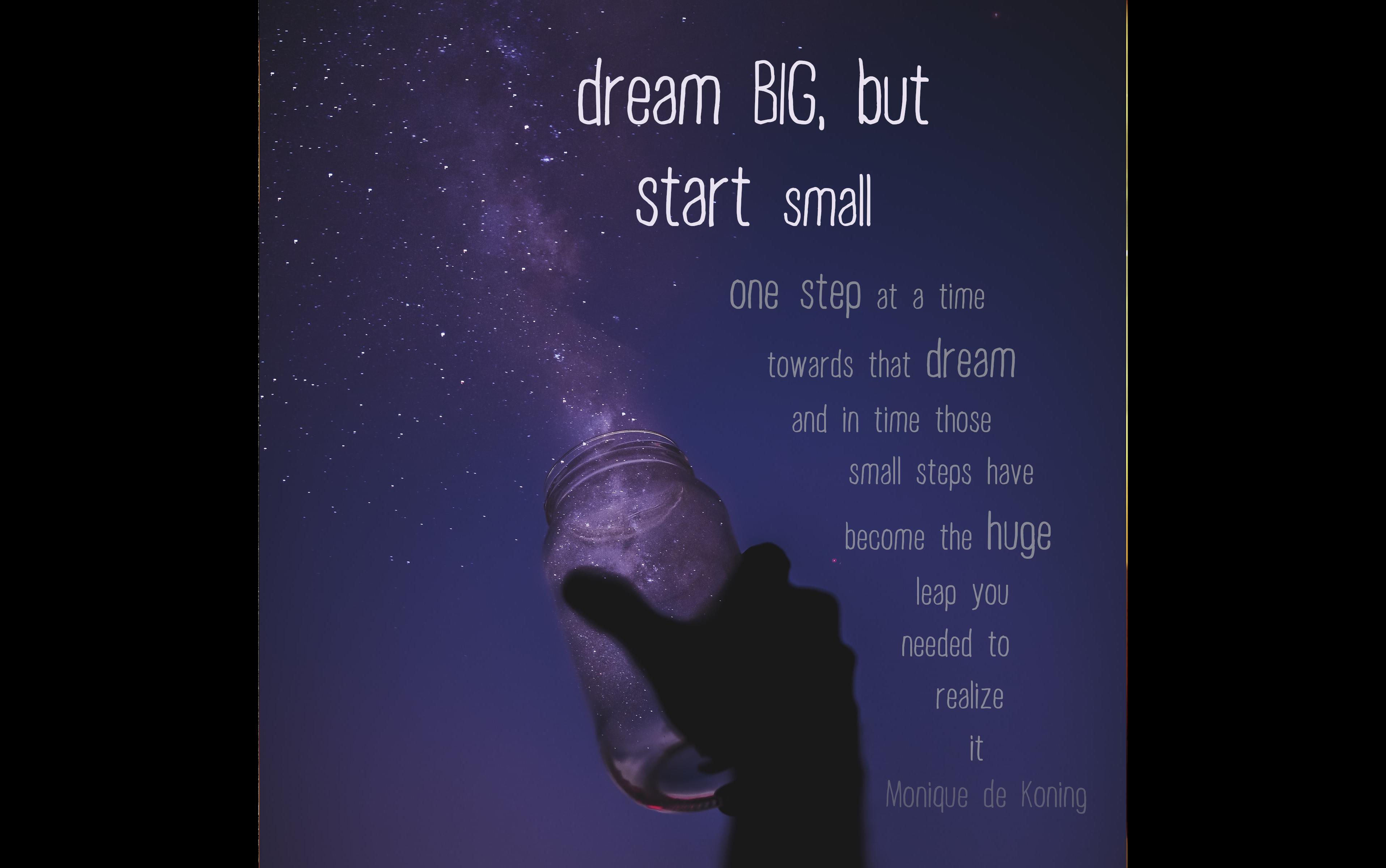 Quote Dream Big