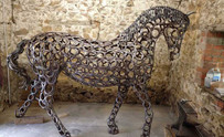 Tealby Metalcraft, Tealby - horse
