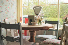 The Vintage Tearooms, Tealby - window
